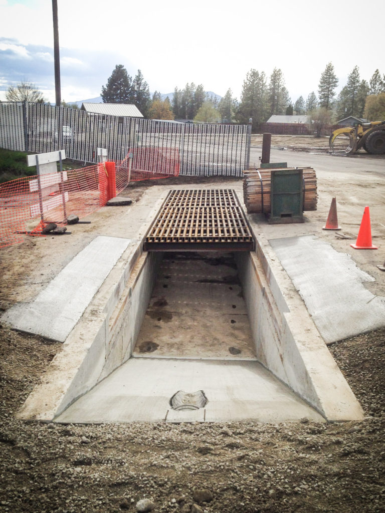 Storm drain project for Boise Cascade in Kettle Falls